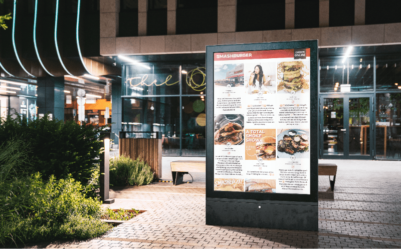 Engaging Digital Out Of Home Advertising