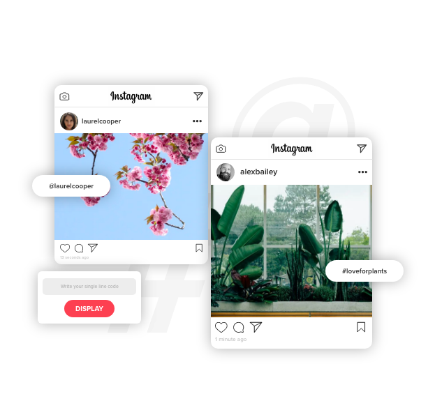 Taggbox instagram widget on blogger