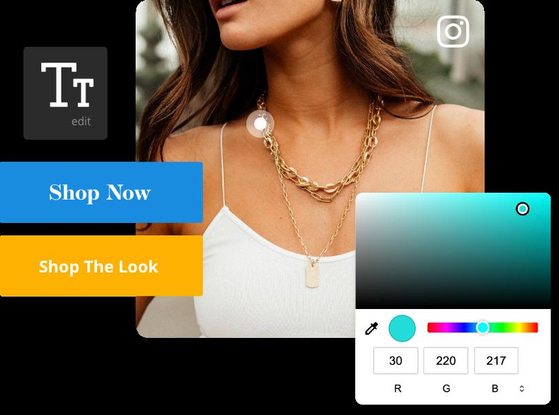 Shoppable UGC Gallery Design
