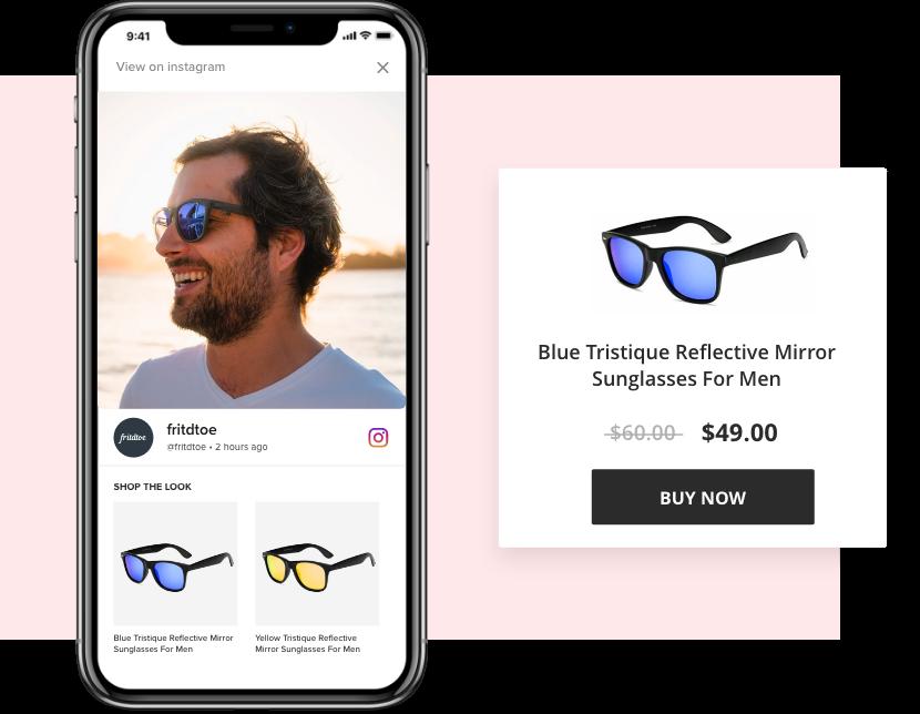 Shoppable Instagram