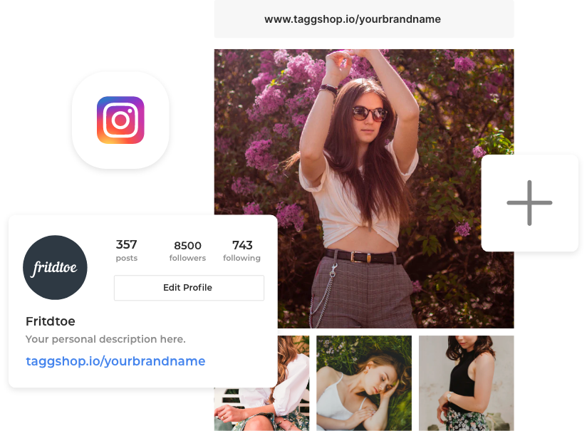Shoppable Link In Instagram