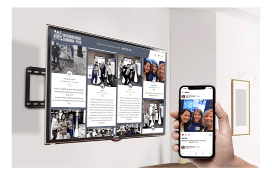 Display Social Wall On Any Screen