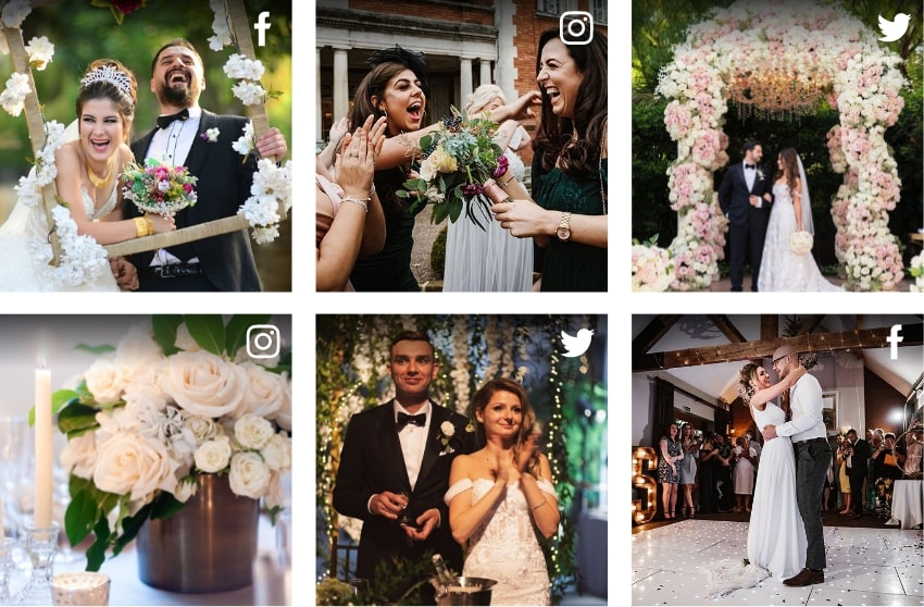 Create & Collect The Most Amazing Wedding Posts