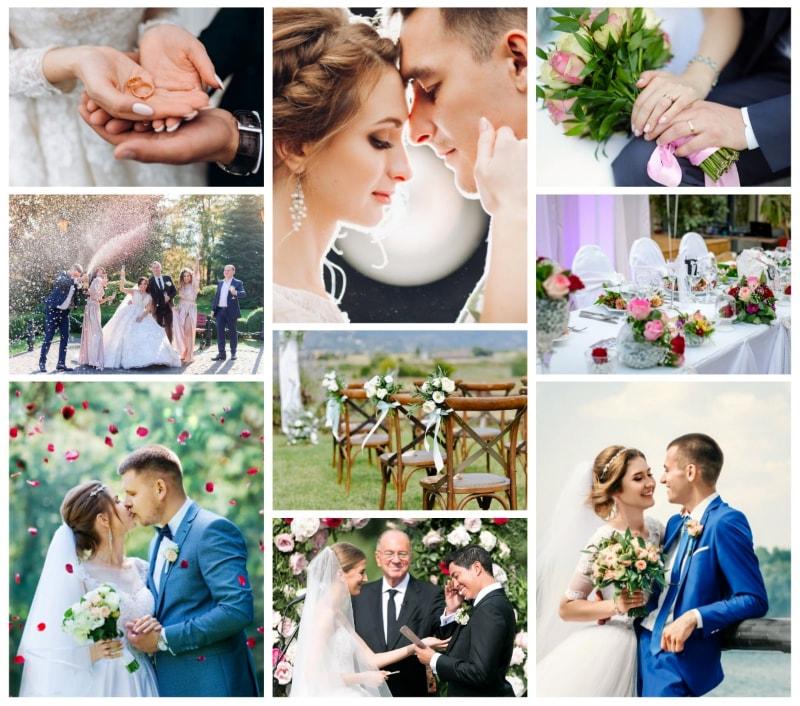 Wedding Hashtag Wall Display Your Wedding Memories On Social Wall