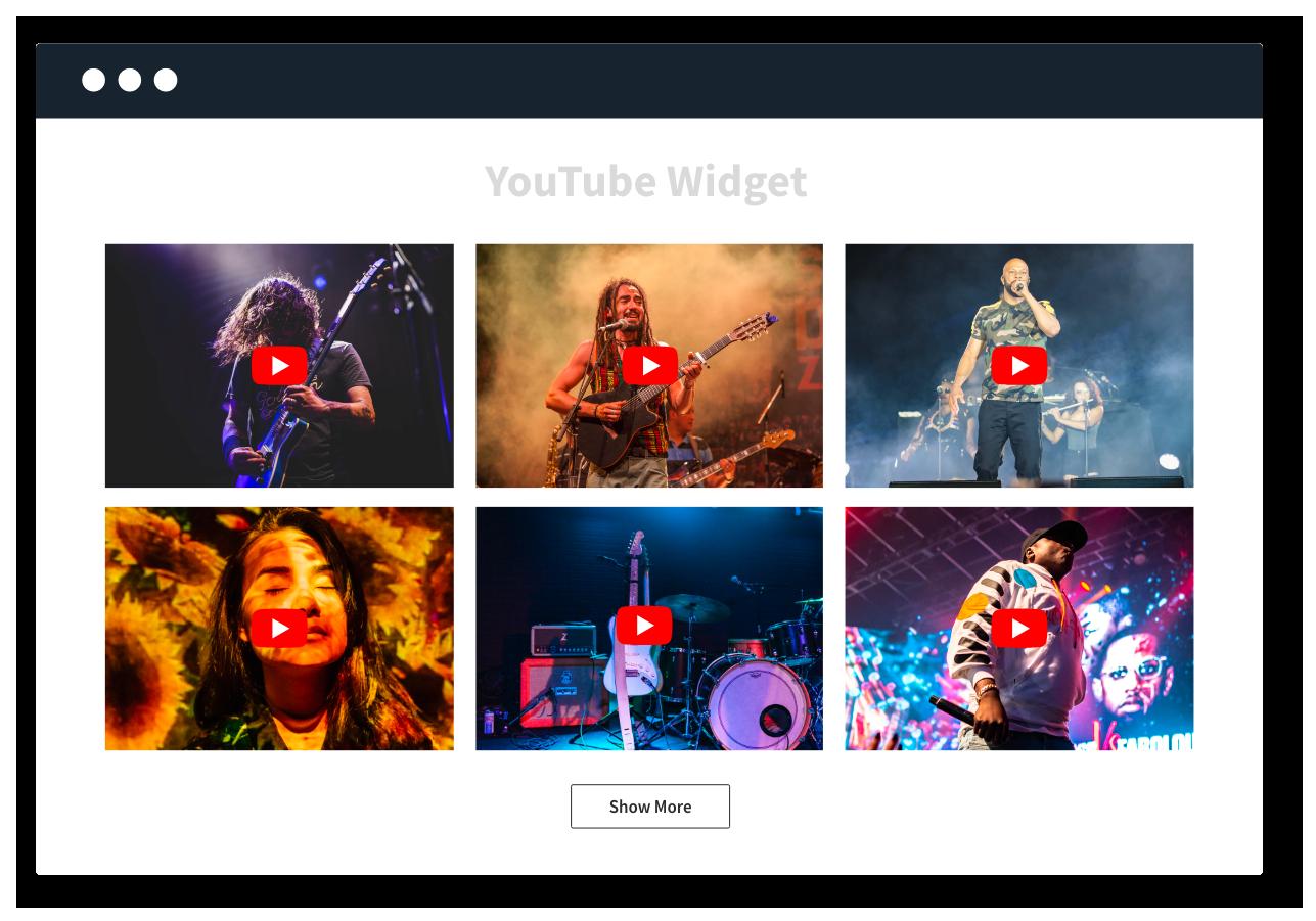 Youtube Widget